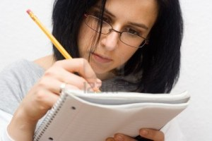3965686-young-caucasian-woman-studying-isolated-on-white