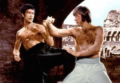 Bruce-Lee-Chuck-Norris