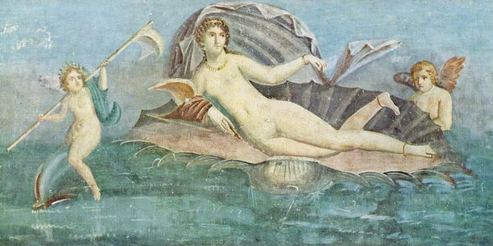 birth-of-aphrodite-pompeiian-wall-painting